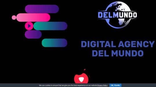 Agency Del Mundo Webseite
