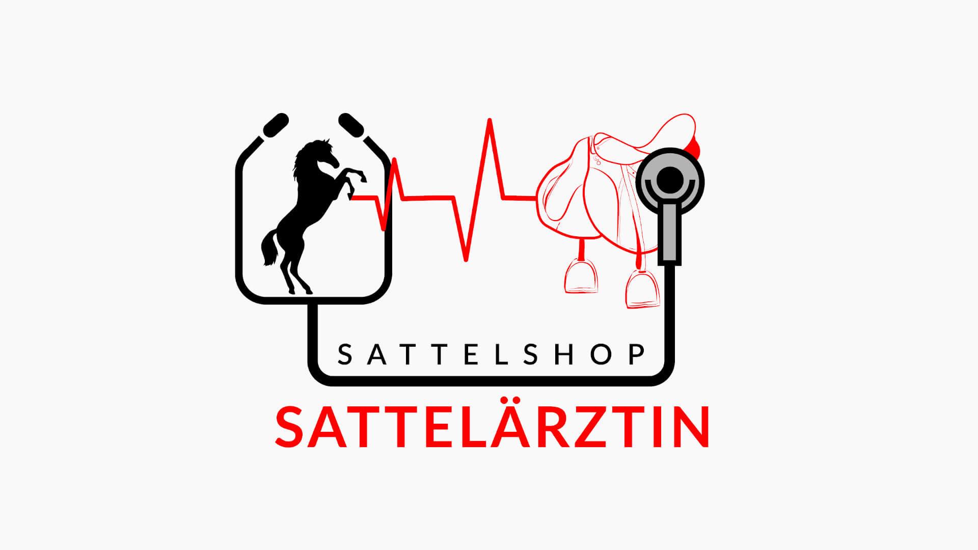Sattelärztin Logo